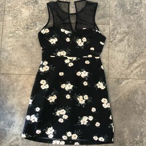 Lace floral dress from Express